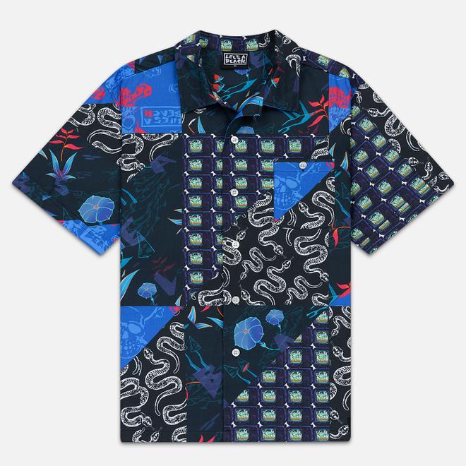 Мужская рубашка Life's a Beach Mishmash 2 Multi Blue