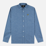 Мужская рубашка Lyle & Scott Chambray Button-Down Dark Chambray фото- 0