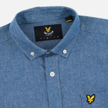 Мужская рубашка Lyle & Scott Chambray Button-Down Dark Chambray фото- 1