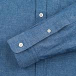 Мужская рубашка Lyle & Scott Chambray Button-Down Dark Chambray фото- 3