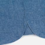Мужская рубашка Lyle & Scott Chambray Button-Down Dark Chambray фото- 5
