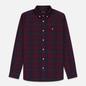 Мужская рубашка Lyle & Scott Check Flannel Burgundy фото - 0