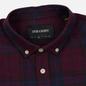 Мужская рубашка Lyle & Scott Check Flannel Burgundy фото - 1