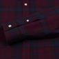 Мужская рубашка Lyle & Scott Check Flannel Burgundy фото - 3