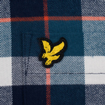 Мужская рубашка Lyle & Scott Check Flannel Off White фото- 2