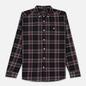 Мужская рубашка Lyle & Scott Check Flannel True Black фото - 0