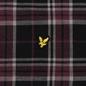 Мужская рубашка Lyle & Scott Check Flannel True Black фото - 2