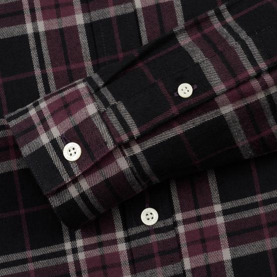 Мужская рубашка Lyle & Scott Check Flannel True Black