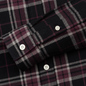 Мужская рубашка Lyle & Scott Check Flannel True Black фото - 3