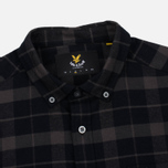 Мужская рубашка Lyle & Scott Check Flannel True Black фото- 1