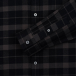 Мужская рубашка Lyle & Scott Check Flannel True Black фото- 3
