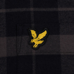 Мужская рубашка Lyle & Scott Check Flannel True Black фото- 2
