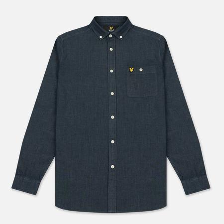 Мужская рубашка Lyle & Scott Denim Dark Indigo
