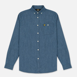 Мужская рубашка Lyle & Scott Denim Light Indigo фото- 0