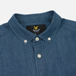 Мужская рубашка Lyle & Scott Denim Light Indigo фото- 1