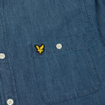 Мужская рубашка Lyle & Scott Denim Light Indigo фото- 2