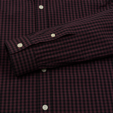 Мужская рубашка Lyle & Scott LS Slim Fit Gingham Berry/True Black фото- 3