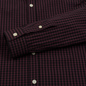 Мужская рубашка Lyle & Scott LS Slim Fit Gingham Berry/True Black фото - 3