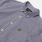 Мужская рубашка Lyle & Scott LS Slim Fit Gingham Navy/White фото - 1
