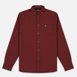 Мужская рубашка Lyle & Scott Oxford Button-Down Claret Jug фото- 0