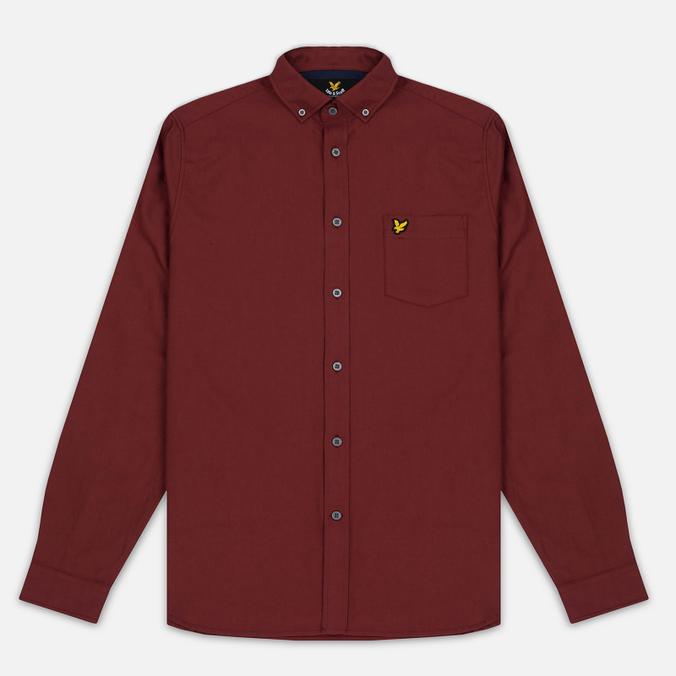 Мужская рубашка Lyle & Scott Oxford Button-Down Claret Jug