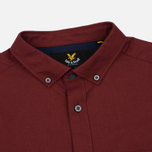 Мужская рубашка Lyle & Scott Oxford Button-Down Claret Jug фото- 1