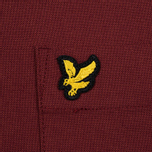Мужская рубашка Lyle & Scott Oxford Button-Down Claret Jug фото- 2