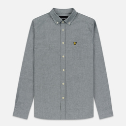 Мужская рубашка Lyle & Scott Oxford Button-Down Jade Green