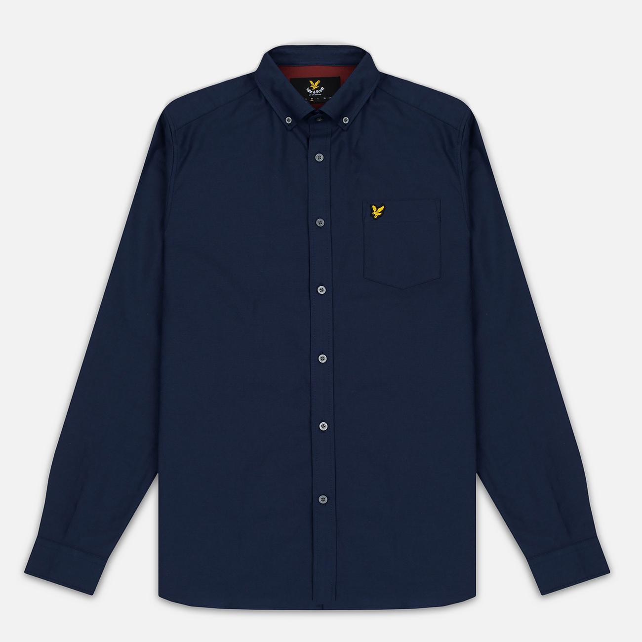 Мужская рубашка Lyle & Scott Oxford Button-Down Navy