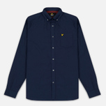 Мужская рубашка Lyle & Scott Oxford Button-Down Navy фото- 0