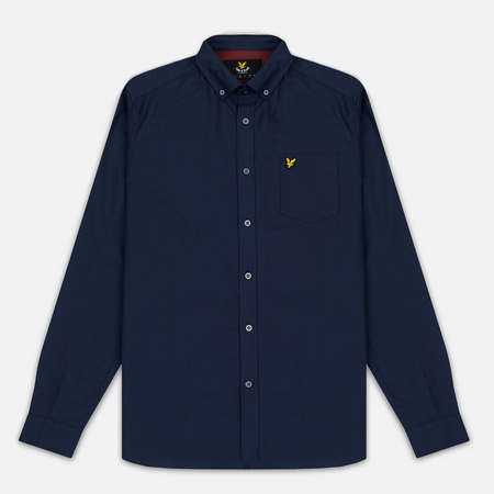 Lyle & Scott Oxford Button-Down Men's Shirt Navy