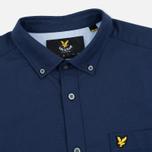 Lyle & Scott Oxford Button-Down Men's Shirt Navy photo- 1