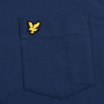 Lyle & Scott Oxford Button-Down Men's Shirt Navy photo- 2
