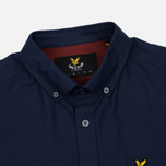 Мужская рубашка Lyle & Scott Oxford Button-Down Navy фото- 1
