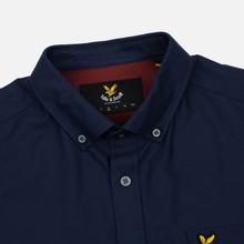 Мужская рубашка Lyle & Scott Oxford Button-Down Navy фото- 1
