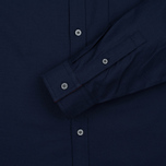 Мужская рубашка Lyle & Scott Oxford Button-Down Navy фото- 3
