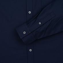 Мужская рубашка Lyle & Scott Oxford Button-Down Navy фото- 3