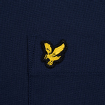 Мужская рубашка Lyle & Scott Oxford Button-Down Navy фото- 2