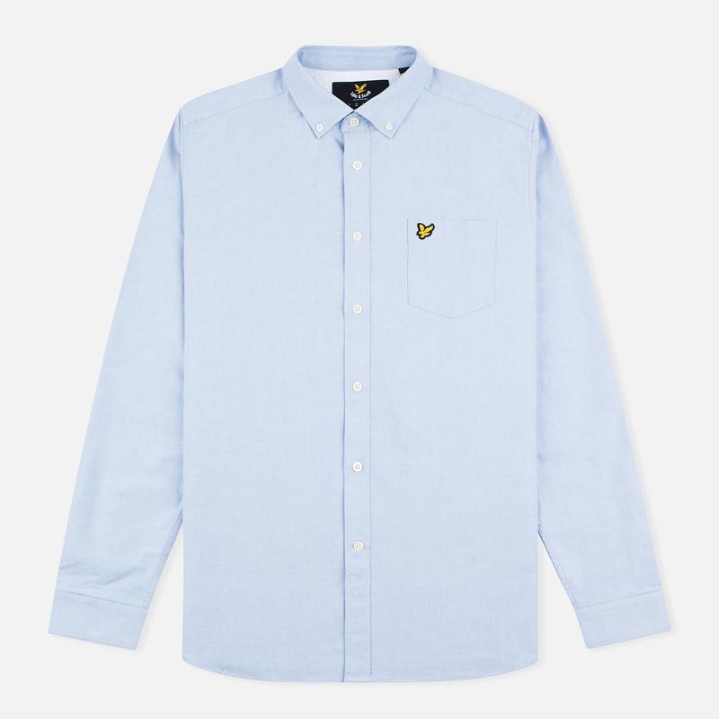 Мужская рубашка Lyle & Scott Oxford Button-Down Riviera