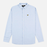 Lyle & Scott Oxford Button-Down Men's Shirt Riviera photo- 0
