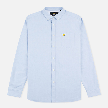 Lyle & Scott Oxford Button-Down Men's Shirt Riviera