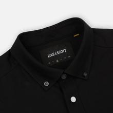 Мужская рубашка Lyle & Scott Oxford Button-Down True Black фото- 1