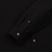 Мужская рубашка Lyle & Scott Oxford Button-Down True Black фото- 3