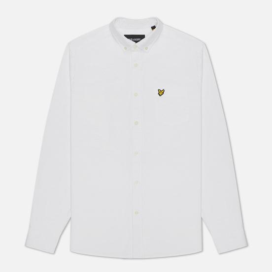 Мужская рубашка Lyle & Scott Oxford Button-Down White