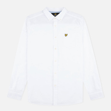 Мужская рубашка Lyle & Scott Oxford Button-Down White фото- 0