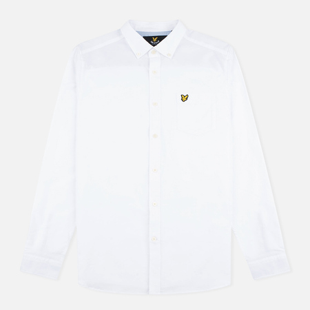 Lyle & Scott Men's shirt Oxford Button-Down White