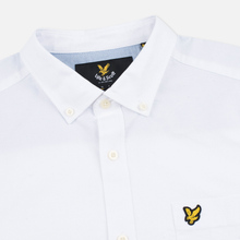 Мужская рубашка Lyle & Scott Oxford Button-Down White фото- 1