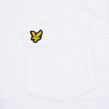 Мужская рубашка Lyle & Scott Oxford Button-Down White фото- 2