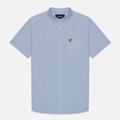 Мужская рубашка Lyle & Scott Short Sleeve Oxford Riviera