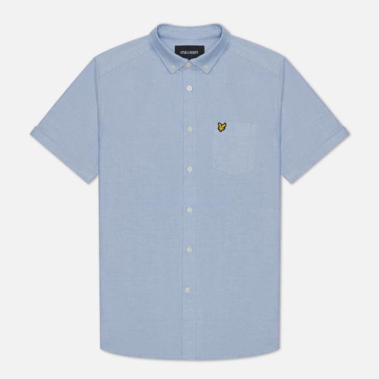 Мужская рубашка Lyle & Scott Short Sleeve Oxford Riviera